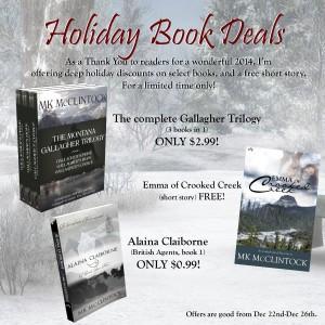 Holiday Book Deals 2014_MKMcClintock