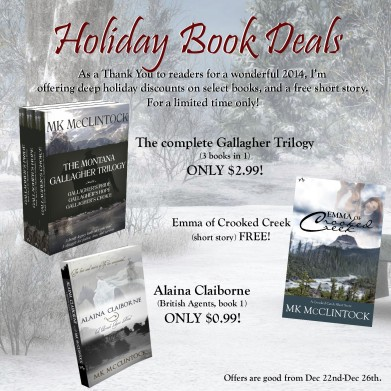 Holiday Book Deals 2014_MKMcClintock