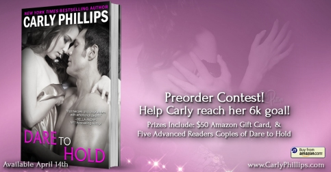 Dare to Hold - Preorder 6k